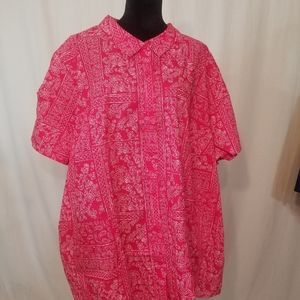 NWOT Woman Within button down shirt